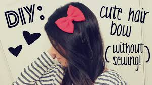 cool hair bows diy hair bow without sewing