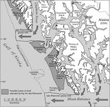 Southern Wisconsin Map by Possible Refugia In The Alexander Archipelago Of Southeastern