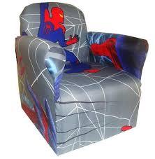 Cartoon Armchair Spider Man Childrens Branded Cartoon Character Armchair Chair