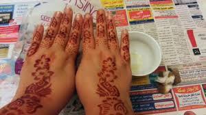 how to use henna stencils for quick designs كيفية استخدام