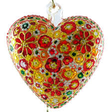 31 best collectible painted stained glass ornaments images on
