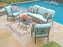 Patio Furniture With Sunbrella Cushions Astounding Sunbrella Patio Furniture Of Wicker Chair Cushions With