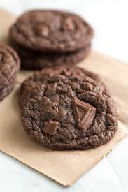 easy chewy double chocolate cookies recipe