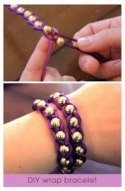 bead string bracelet images Never ending circle leather and sterling silver bracelet jpg