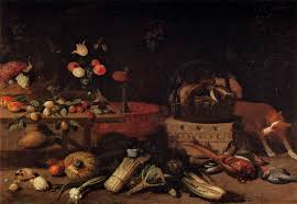Interior Of A Kitchen File Jan Van Kessel I Interior Of A Kitchen With A Dog