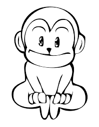 singe 14 coloriage singes coloriages pour enfants