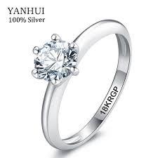 lols wedding band jewelry 18krgp st gold rings set 5mm sona cz diamant