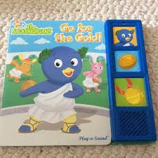 guc backyardigans gold play sound book