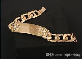 cuban chain link bracelet images Miami cuban chain bracelet men gold stainless steel curb chain jpg