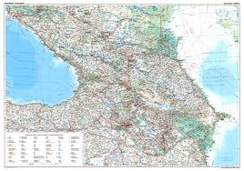 Caucasus Mountains On World Map by Caucasus Geographical Map She Sells Seashells And Other Tricky