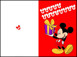 free printable mickey mouse birthday cards luxury lifestyle