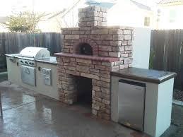 Outdoor Kitchen Pizza Oven Design Kitchen Makeovers Gas Fired Pizza Oven Outdoor Kitchen Plans Top