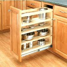kitchen cabinet tray dividers cabinet tray divider slide out organizers kitchen cabinets view
