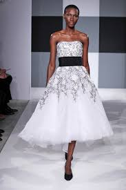 black and white wedding dress trend report black and white wedding gowns