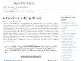 28 mitsubishi q03udecpu manual