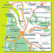 map of bordeaux bordeaux and surrounding area michelin zoom map 126 stanfords