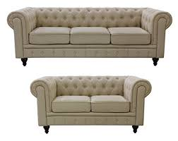 Linen Chesterfield Sofa Us Pride Furniture S5071 2pc Linen Fabric Chesterfield