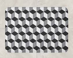 Black And White Bathroom Rugs Bath Mats U0026 Rugs Etsy