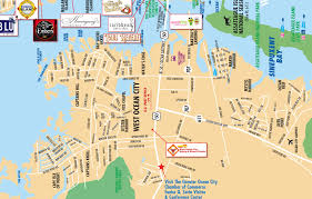 Show Me A Map Of Maryland Local Maps Ocean City Md Chamber Of Commerce