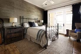 Black Amp White Modern Country by Bedroom Rustic Modern Bedroom Design With White And Brown