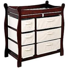 Changing Table Dresser Cherry Changing Tables For Less Overstock