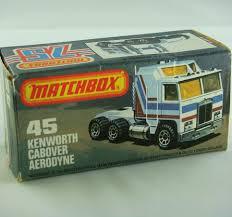 kenworth cabover matchbox superfast no 45c kenworth cabover diecastinvestor