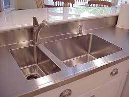 stainless steel countertop with sink custom stainless steel countertops sinks and cabinets