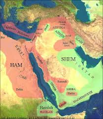 middle east map moses time hebrews canaanites and philistines facts and details