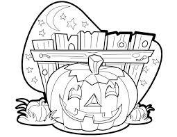 dessin a colorier gratuit citrouille halloween lewismasonic