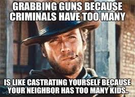 Photo Edit Meme - meme hilariously destroys liberal gun control arguments