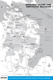 State Of Michigan Map by Printable Travel Maps Of Michigan Moon Travel Guides