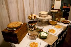 thanksgiving dessert table connolly