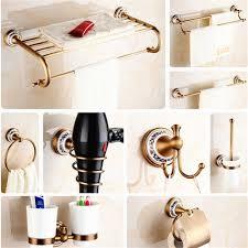 Wall Mount Bathroom Accessories by Online Get Cheap Bronze Bath Accessories Aliexpress Com Alibaba
