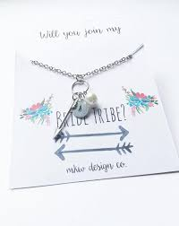 will you be my of honor gift tribe jewelry will you be my bridesmaid will you be my