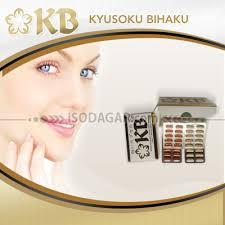Pemutih Kb kyusoku bihaku sabun suplemen pemutih dengan glutathione dan vit