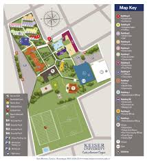 American University Campus Map Home Keiser University