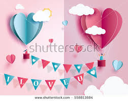 Design For Valentines Card Love Invitation Card Valentines Day Abstract Stock Vector