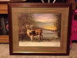 home interior deer pictures home interior pictures ebay