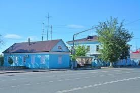 bureau de dessin en b iment bâtiment de bureau de poste sur la place soviétique dans la ville