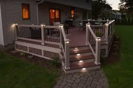 the decksperts outdoor lighting custom outdoor living space