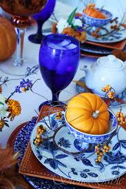 Beautiful Place Settings Autumn High Tea Stonegable