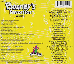 barney barney u0027s favorites vol 1 amazon music