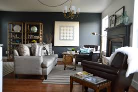 Poor Living Room Designs The Poor Sophisticate T V Wall And Living Room Reveal Chainimage