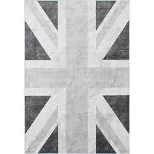 Purple Union Jack Rug Ecarpetgallery Wayfair