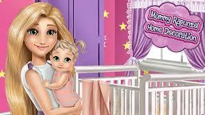 Princess Home Decoration Games Tangled Disney Mommy Princess Rapunzel Home Decoration Best