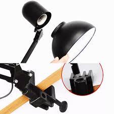 white black red iron elegant study table lamp us plug modern be