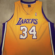 70 off nike tops shaquille o u0027neal los angeles lakers jersey