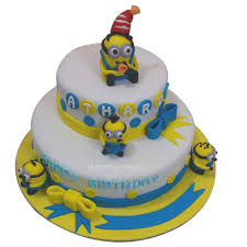 minion birthday cake ideas birthday minion cake minion cake online order yummycake