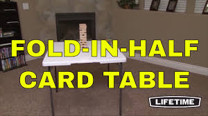 34 folding card table lifetime 34 square card tables 80273 white fold in half folding