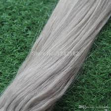 gg extensions micro loop ring links remy silver grey human hair